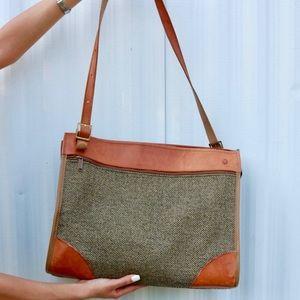 Olive Green Hantmann Duffle Travel Bag